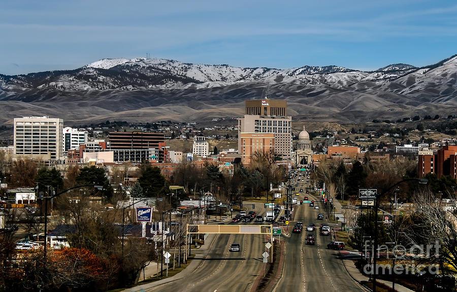 Boise Idaho Photograph