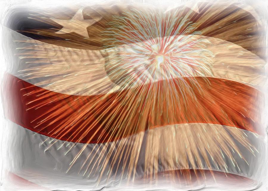 Bombs Bursting In Air Photograph  - Bombs Bursting In Air Fine Art Print