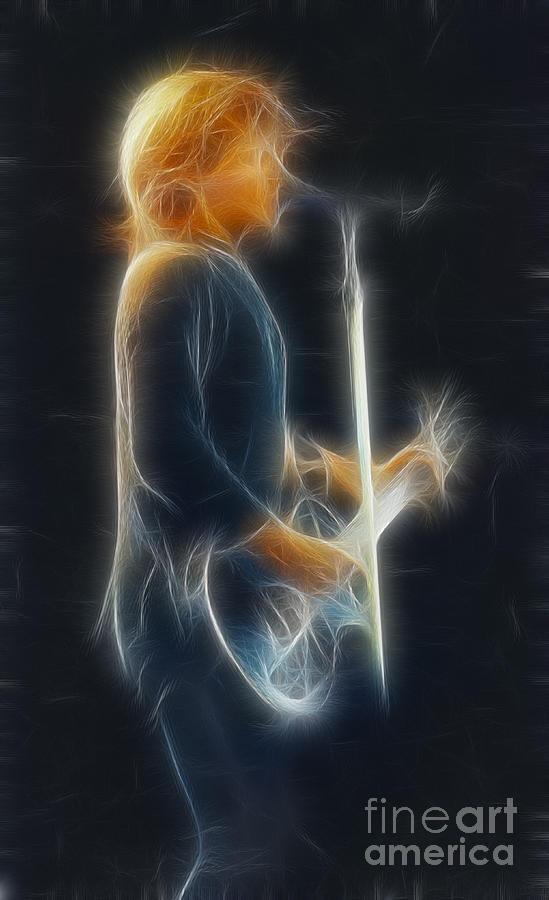 Bon Jovi-jon-ga12-fractal Photograph