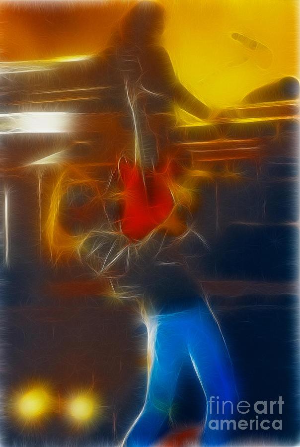 Bon Jovi-ritchie-gb2-fractal Photograph