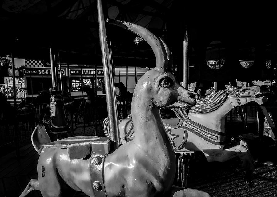 Carnival Photograph - Boneless Bbq Cheese Hamburgers by Bob Orsillo