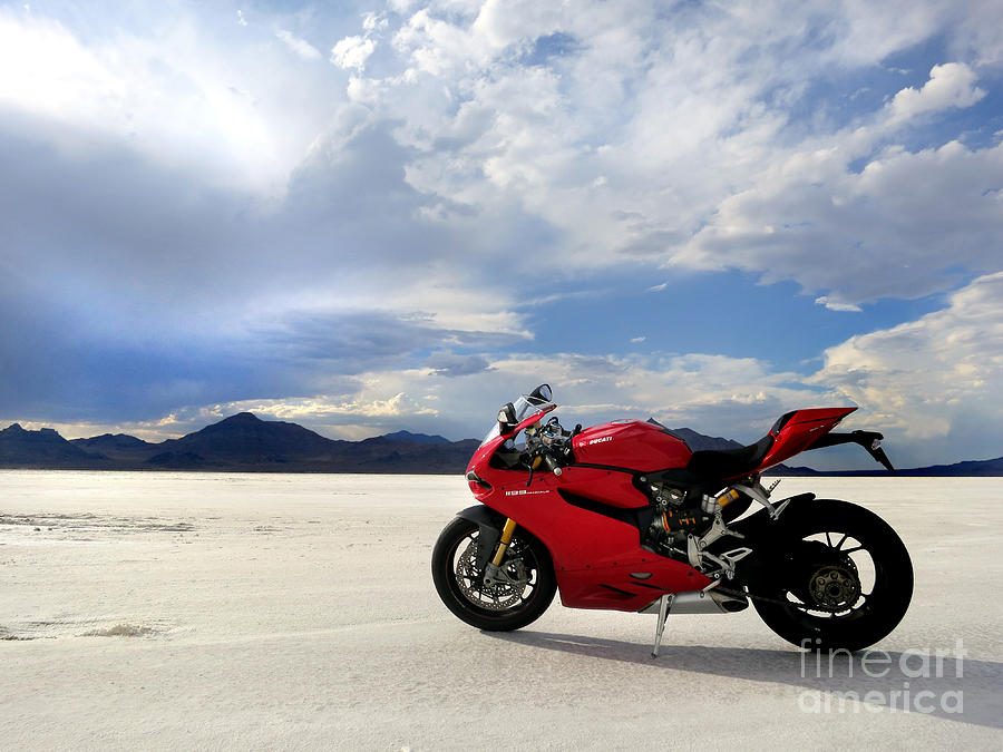 Bonneville Salt Flats 2 Photograph