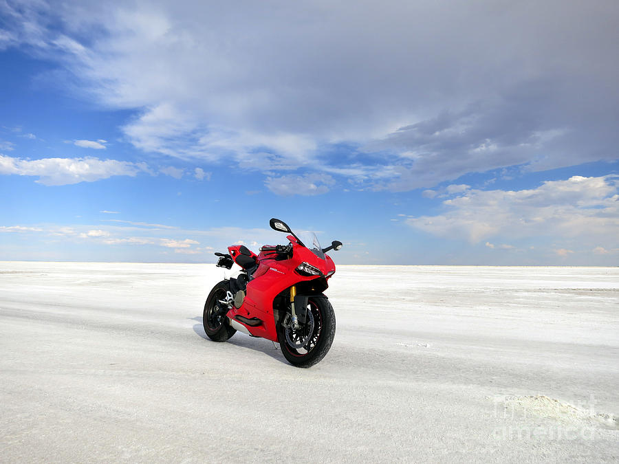 Bonneville Salt Flats Photograph