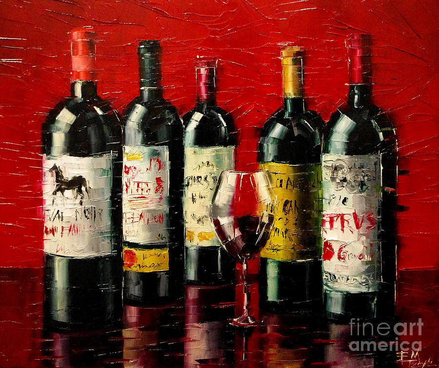 Bordeaux Collection Painting
