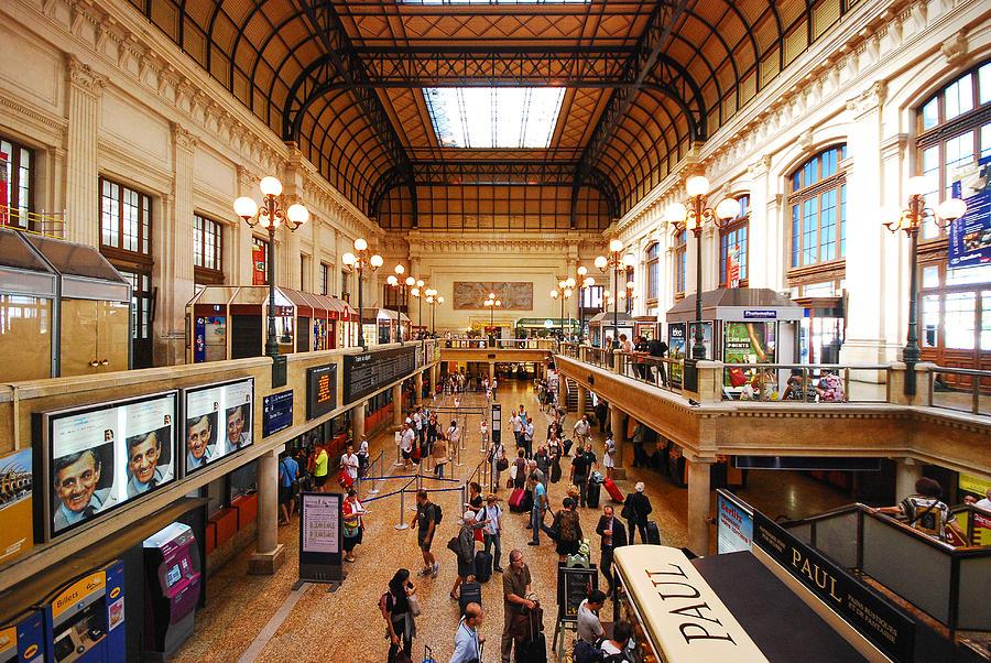 Вокзал Бордо, на поезде в Бордо