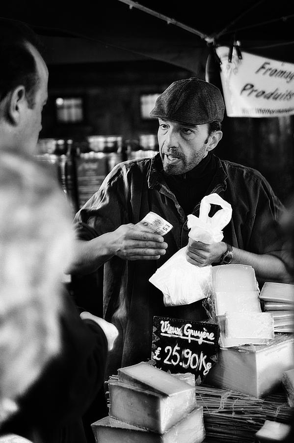 Adult Photograph - Borough Market by Erik Brede