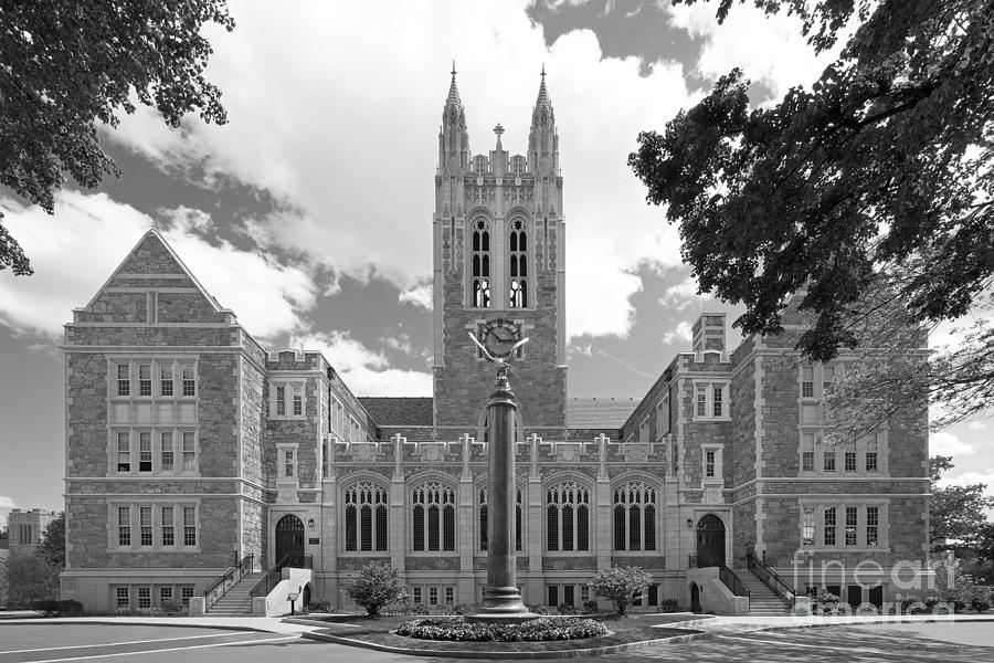 Boston College Gasson Hall Photograph  - Boston College Gasson Hall Fine Art Print