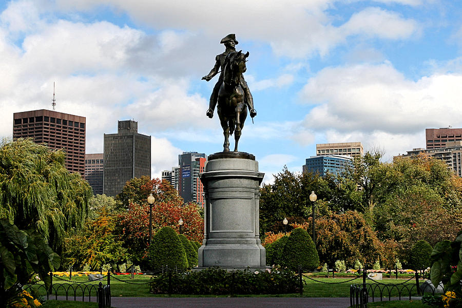 Boston Common Photograph