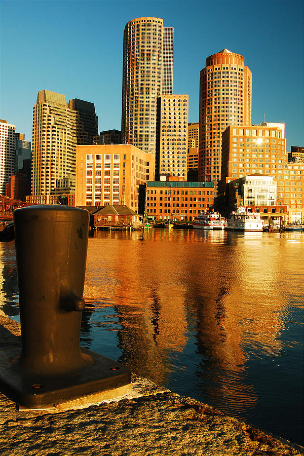 Boston Harbor Photograph