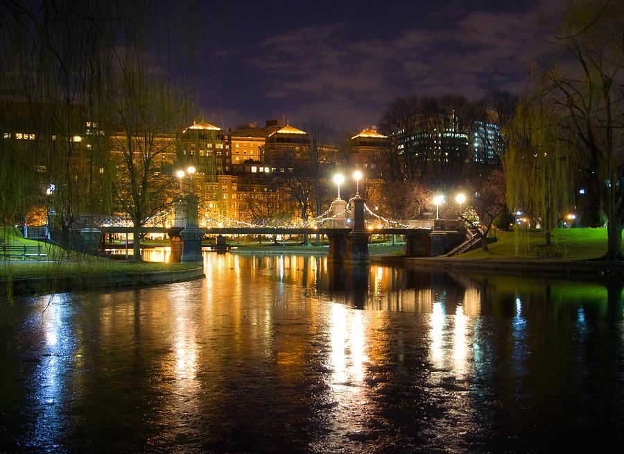 Boston Photograph - Boston Lagoon Bridge by Joann Vitali