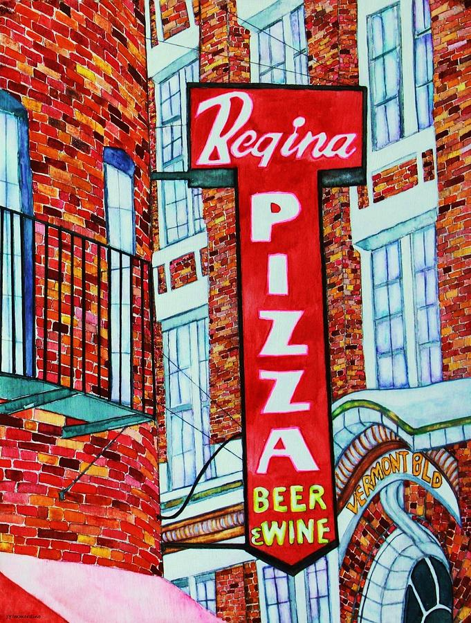 Boston Pizzeria  Painting