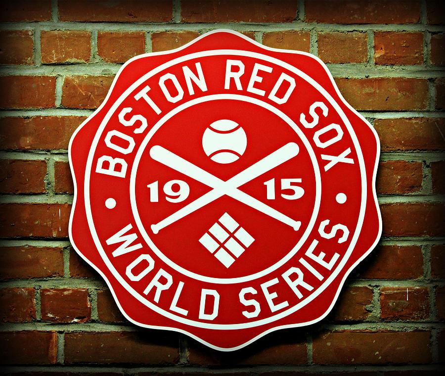 Boston Photograph - Boston Red Sox 1915 World Champions by Stephen Stookey