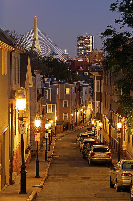 Charlestown Photograph - Boston View From Charlestown by Juergen Roth