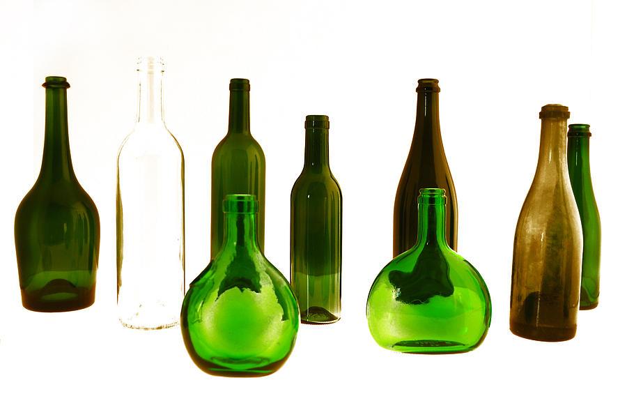 Bottled Digital Art By Gina Dsgn