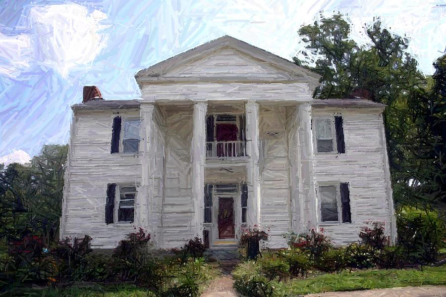 Bottom-mcafee-guthrie House - Perryville Ky Photograph  - Bottom-mcafee-guthrie House - Perryville Ky Fine Art Print