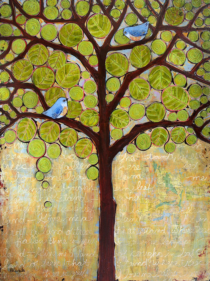 Boughs In Leaf Tree Painting