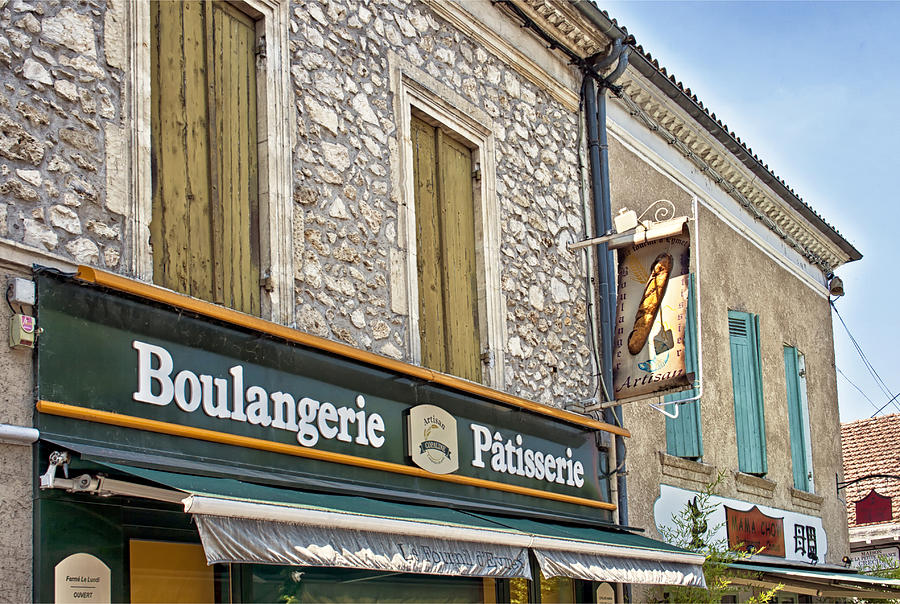 Boulangerie In Summer Photograph  - Boulangerie In Summer Fine Art Print