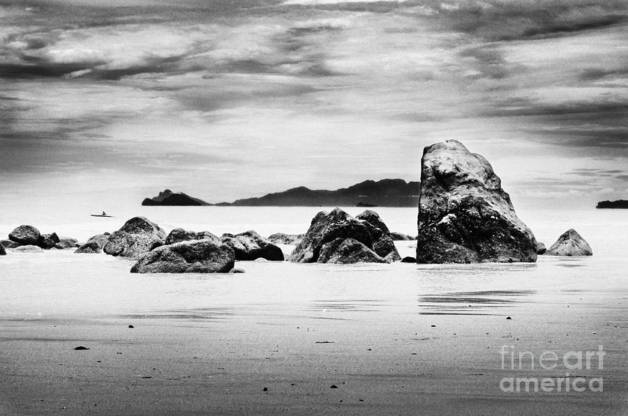 Boulders On The Beach Photograph
