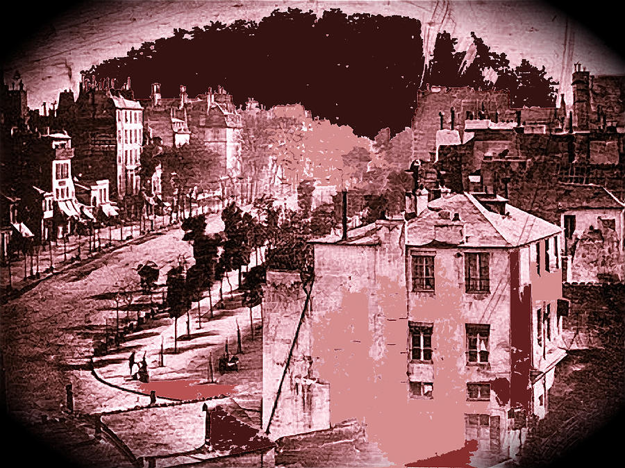 boulevard du temple louis daguerre photo late 1838 or early 1839 2008 photograph by