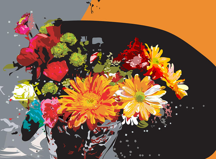 Bouquet Digital Art