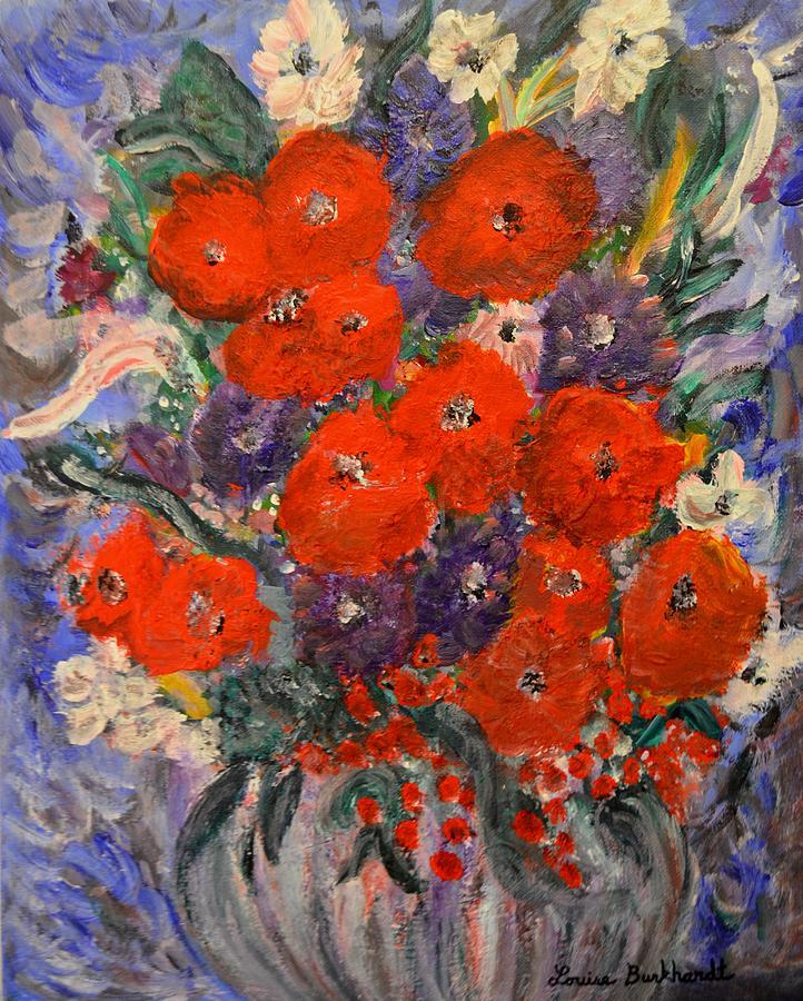 Bouquet Splash Painting
