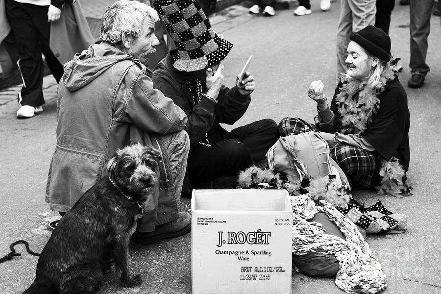 Bourbon St. Performers Photograph