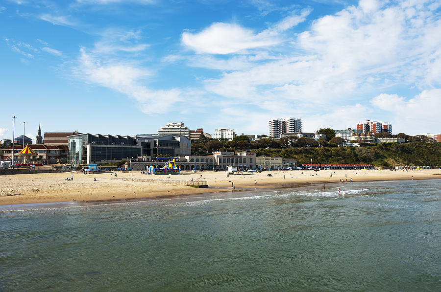 Bournemouth Bay Photograph