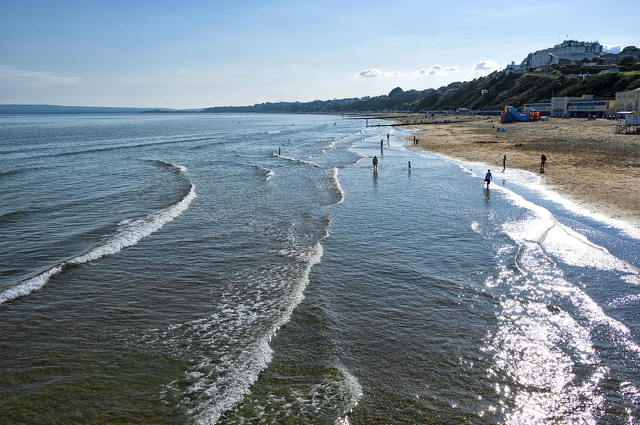 Bournemouth Beach Photograph