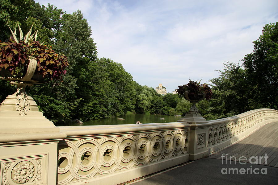 Bow Bridge Texture I - Central Park - Nyc Photograph  - Bow Bridge Texture I - Central Park - Nyc Fine Art Print