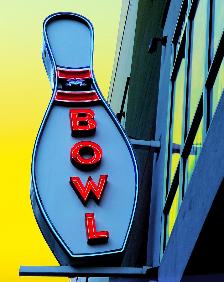 Bowling Photograph