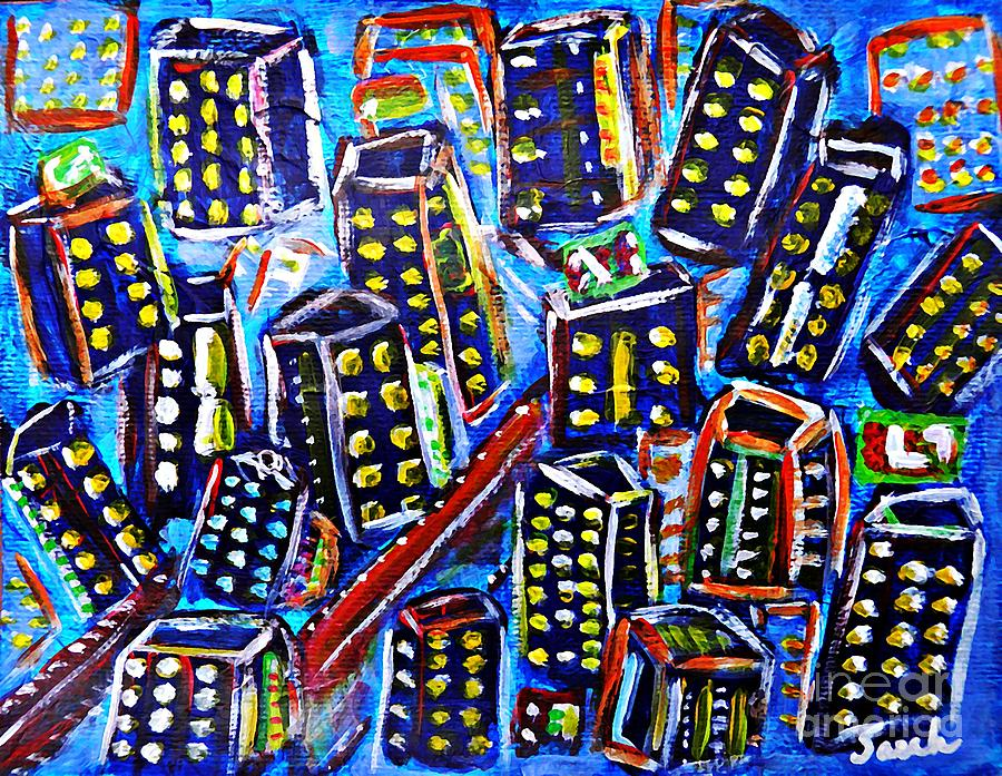 Box City Painting