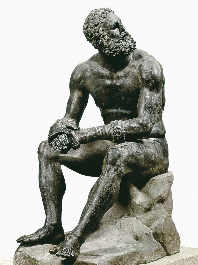 Boxer Seatted. 1st C. Hellenistic Art Photograph