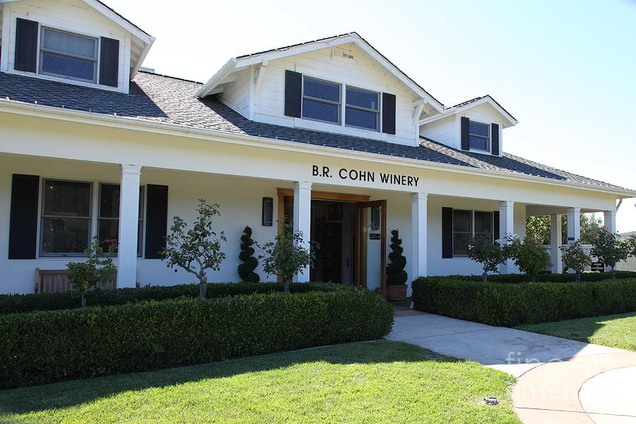 Br Cohn Winery In The Sonoma California Wine Country 5d24615 Photograph