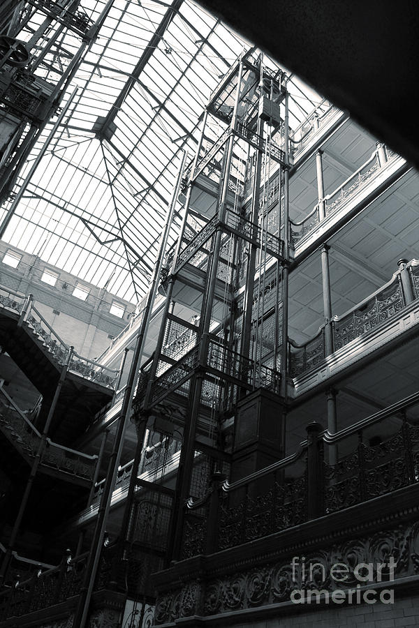 Los Angeles Photograph - Bradbury Building by Gregory Dyer