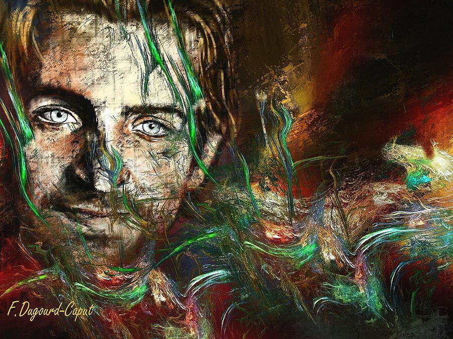 Portrait Painting - Bradley by Francoise Dugourd-Caput