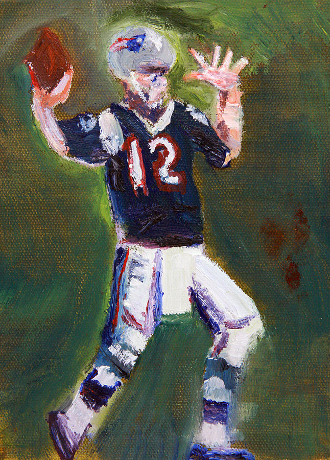 Brady Power Painting  - Brady Power Fine Art Print
