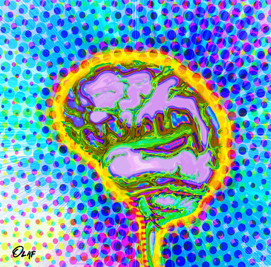 Brain Pop Digital Art