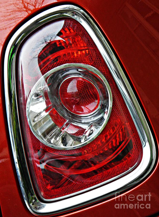 Brake Light 25 Photograph  - Brake Light 25 Fine Art Print