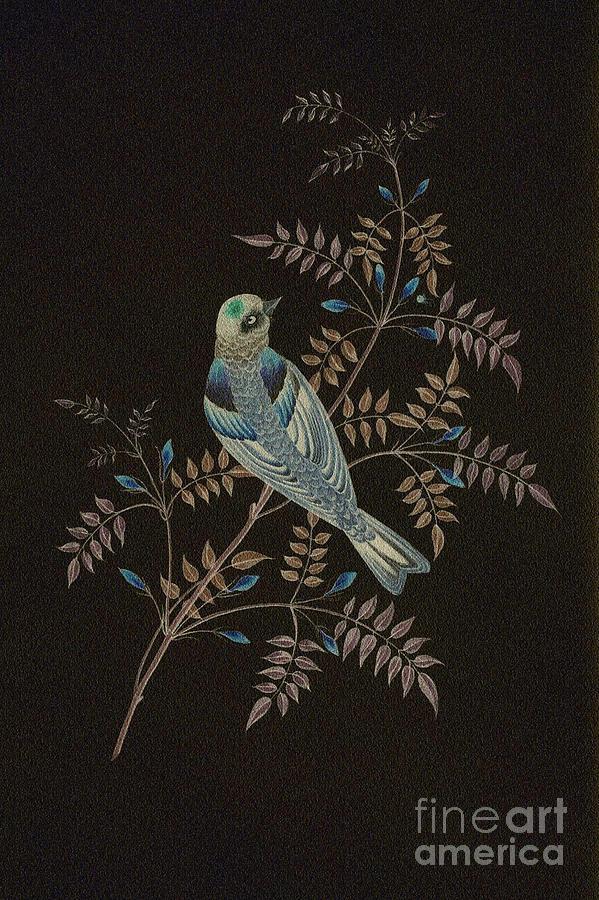 Bramble Finch-4 Photoart Digital Art