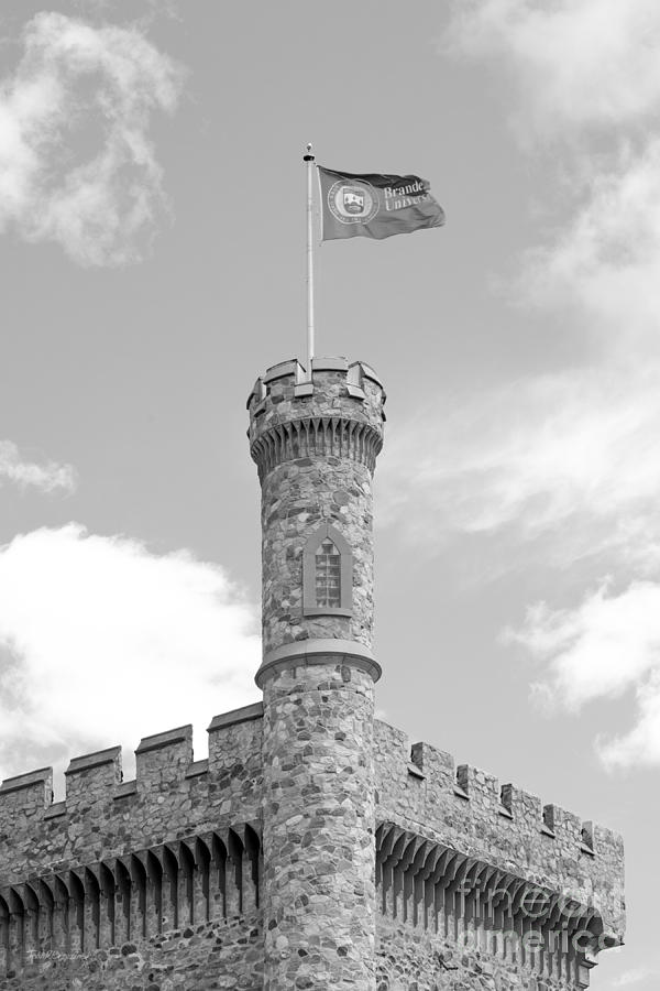 Brandeis University Usen Castle Photograph