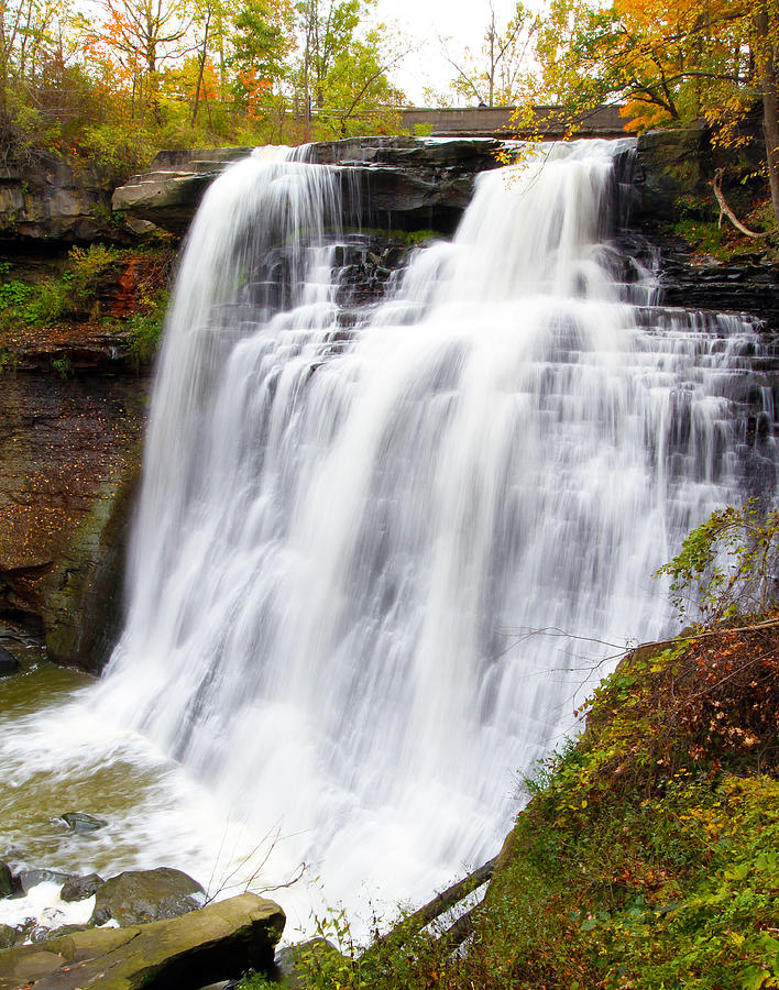 Brandywine Falls Photograph  - Brandywine Falls Fine Art Print