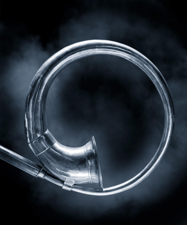 Brass Horn  Photograph