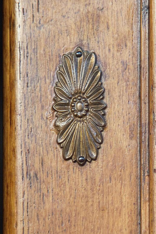 Brass Medallion Photograph