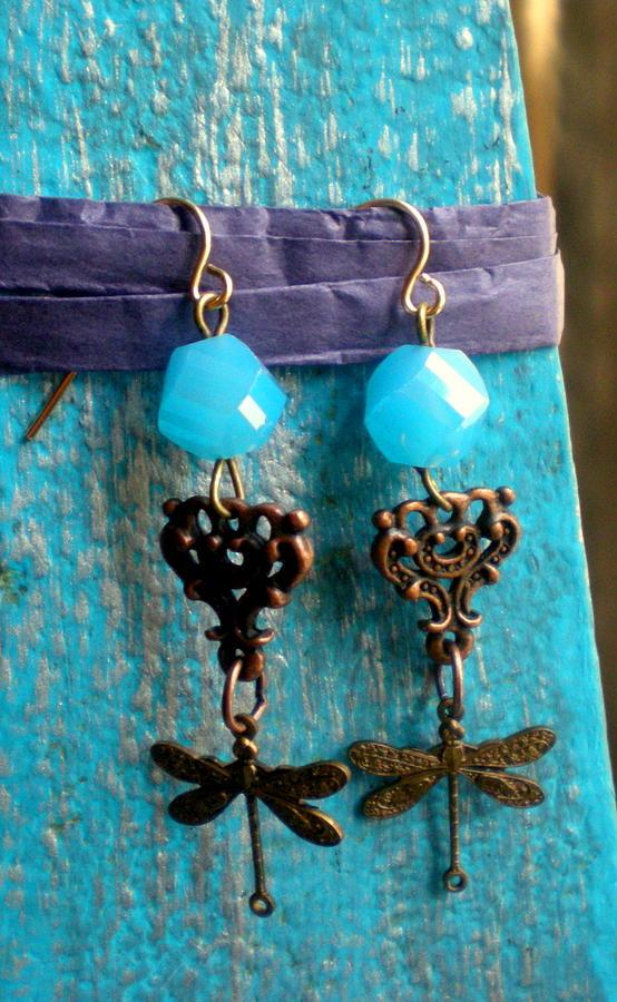 Brassy Blue Jewelry