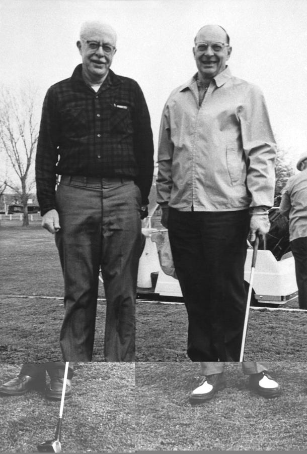 Brattain And Bardeen, Us Physicists Photograph