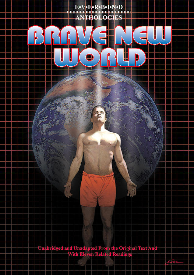 Harold Shull Mixed Media - Brave New World by Harold Shull