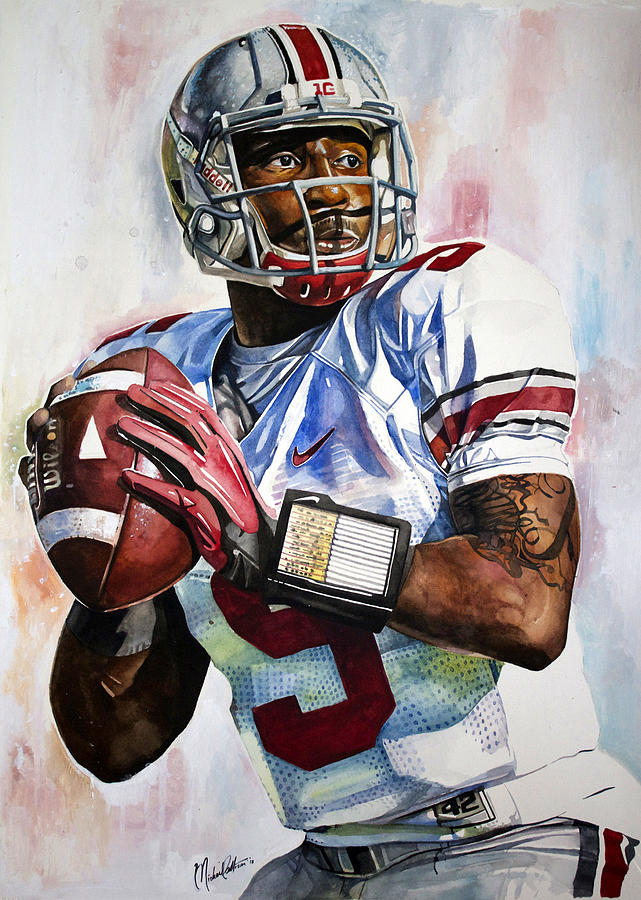 Braxton Miller - Ohio State Painting