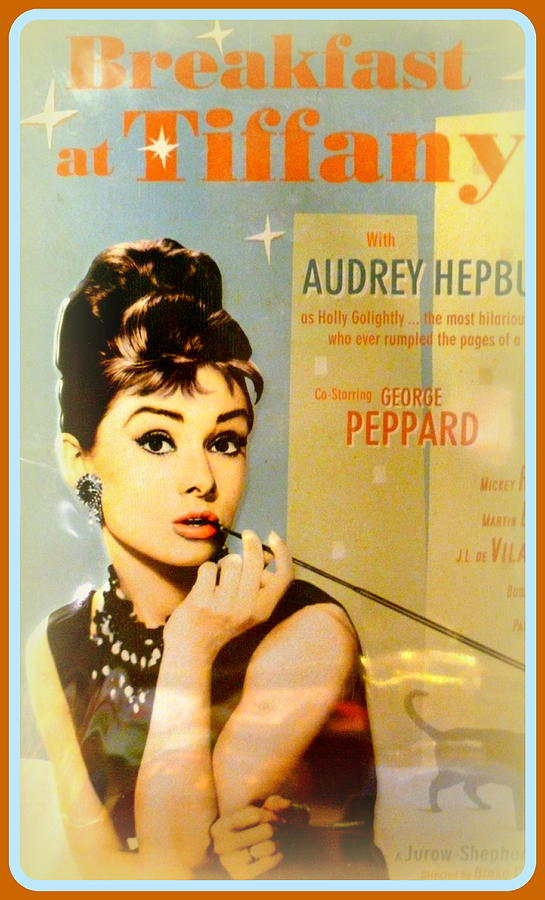 Audrey Photograph - Breakfast At Tiffany by The Creative Minds Art and Photography