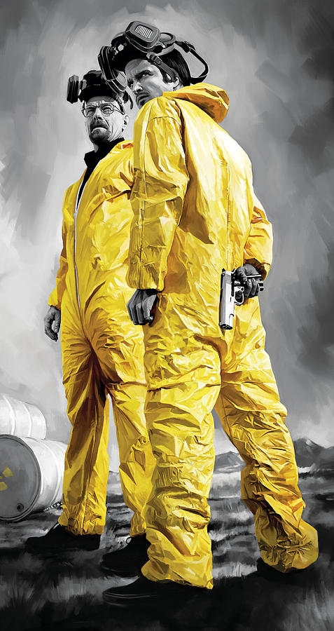 Breaking Bad Artwork Painting