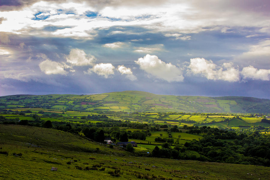 Wales Photograph - Breaking Clouds by Theresa Selley